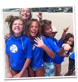 Make new friends at the Santa Monica kids camp