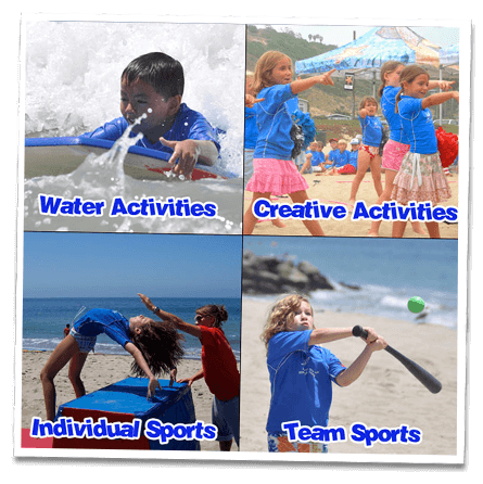 Santa Monica kids camp activities