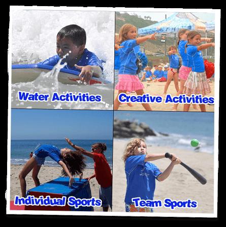 Santa Monica kids camp activities