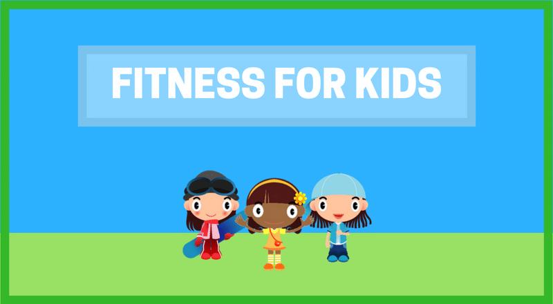 Fitness for Kids banner