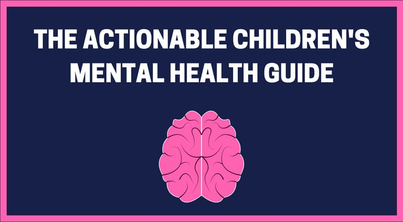 Children's Mental Health Guide Banner