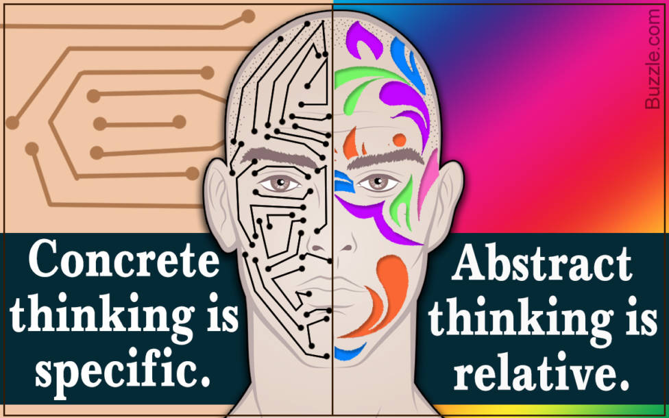 concrete vs abstract thinking