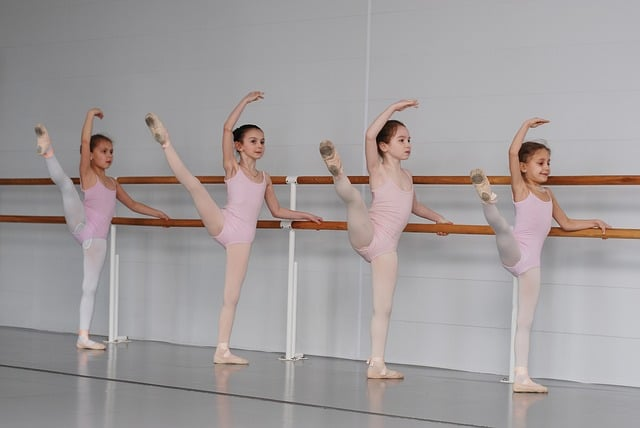 learning discipline in ballet